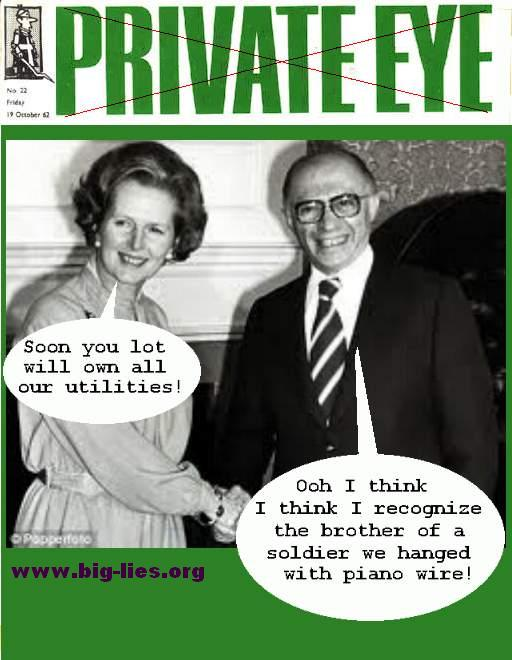 Thatcher Begin chosen people frauds
